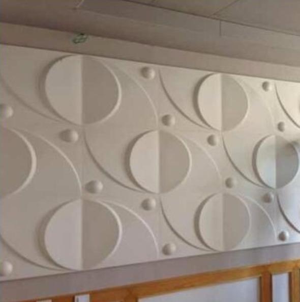 3d wall panel flora  1-007-8d