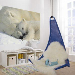 φωτοταπετσαρια τοιχου πολικες αρκουδες 1-605