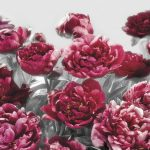 φωτοταπετσαρια τοιχου λουλουδια 4-002