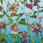 φωτοταπετσαρια τοιχου λουλουδια 4-029