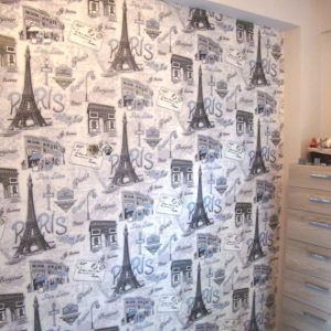 ταπετσαρια τοιχου paris 70670d