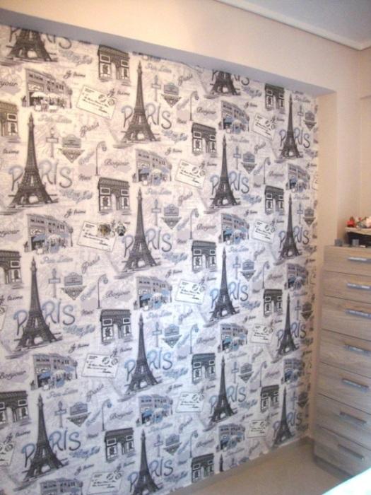 ταπετσαρια τοιχου paris 70670