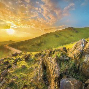 φωτοταπετσαρια τοιχου βουνα 8-525