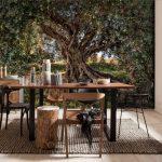 φωτοταπετσαρια τοιχου ελαιοδεντρο 8-531