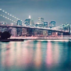 φωτοταπετσαρια τοιχου γεφυρα Μπρουκλιν 8-731