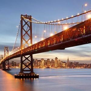 φωτοταπετσαρια τοιχου γεφυρα Σαν Φρανσισκο 8-733
