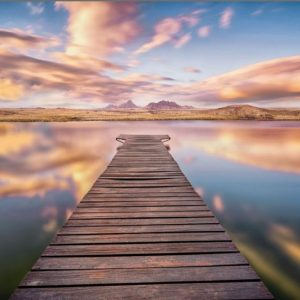 φωτοταπετσαρια τοιχου λιμνη 8-958