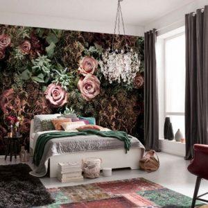 φωτοταπετσαρια τοιχου τριανταφυλλα 8-980