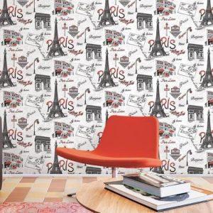 ταπετσαρια τοιχου paris 90670d