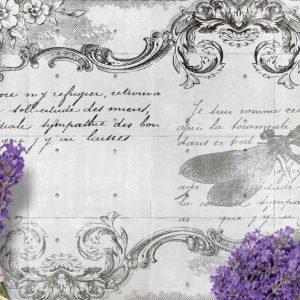 Φωτοταπετσαρια λεβαντα & λιβελουλα 1799