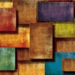 Φωτοταπετσαρία τοίχου χρωματιστές πλάκες 3181