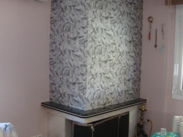ταπετσαρια τοιχου 3D σε τζακι 42097-40