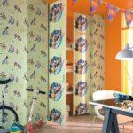 ταπετσαρια τοιχου παιδικη looney tunes 223309