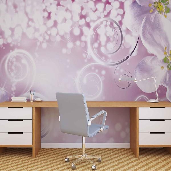 φωτοταπετσαρια τοιχου λουλουδια 2267