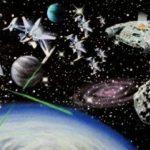 παιδικη μπορδουρα διαστημα 265408
