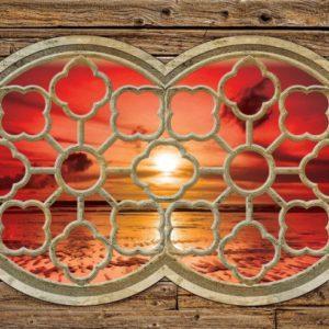 φωτοταπετσαρια τοιχου ηλιοβασιλεμα 2061