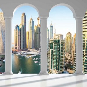 φωτοταπετσαρια τοιχου αψιδες στο Ντουμπαι 2358