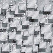 φωτοταπετσαρια τοιχου μεταλλικοι κυβοι 3029