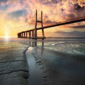 φωτοταπετσαρια τοιχου γεφυρα στην Πορτογαλια 3144