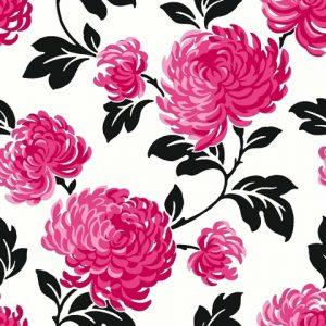 ταπετσαρια τοιχου λουλουδια 13890