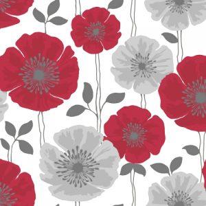 ταπετσαρια τοιχου λουλουδια 14866