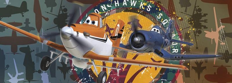 παιδικη φωτοταπετσαρια αεροπλανα planes 1-464