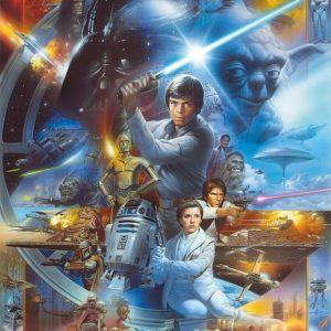παιδικη φωτοταπετσαρια Star wars 4-441