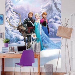 παιδικη φωτοταπετσαρια Frozen 4-498