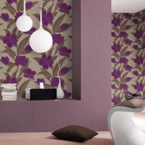 Ταπετσαρια τοιχου λουλουδια 788129
