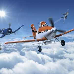 παιδικη φωτοταπετσαρια αεροπλανα planes 8-465