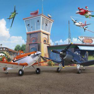 παιδικη φωτοταπετσαρια αεροπλανα planes 8-469