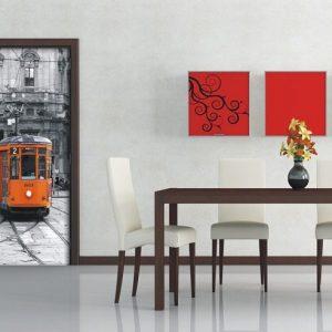 φωτοταπετσαρια τοιχου τραμ 1-0300