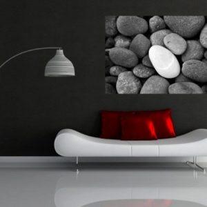 φωτοταπετσαρια τοιχου βοτσαλα 1-0824