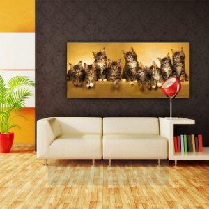 φωτοταπετσαρια τοιχου γατες 1-0904