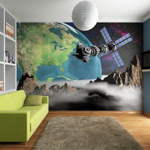 φωτοταπετσαρια τοιχου διαστημα 4-0094