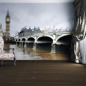 φωτοταπετσαρια τοιχου Λονδινο 4-0117