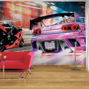 φωτοταπετσαρια τοιχου αυτοκινητα 4-0147