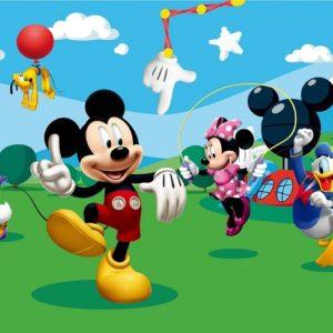 παιδικη φωτοταπετσαρια Μικυ Μαους 4-0253