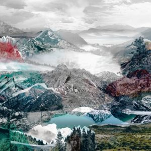 φωτοταπετσαρια τοιχου βουνα 4-053