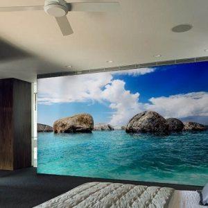 φωτοταπετσαρια τοιχου θαλασσα 4-1301