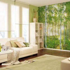 φωτοταπετσαρια τοιχου δασος 4-519