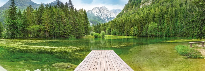 φωτοταπετσαρια τοιχου λιμνη 4-538