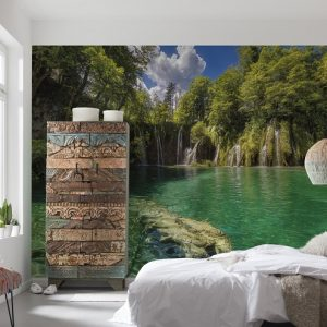 φωτοταπετσαρια τοιχου λιμνη 8-533