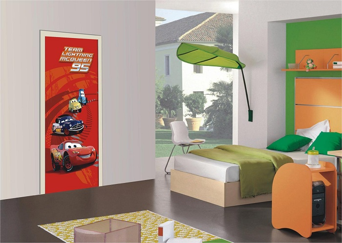 παιδικη φωτοταπετσαρια αυτοκινητα cars 1-0236