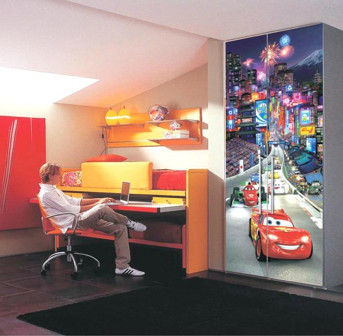 παιδικη φωτοταπετσαρια αυτοκινητα cars 1-0280