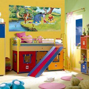 παιδικη φωτοταπετσαρια Γουινι 1-0615