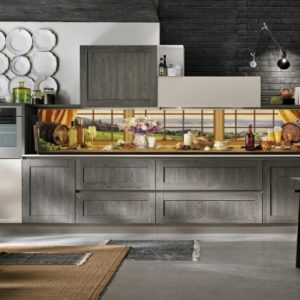 3D PVC panel κουζινας παραθυρο 4669