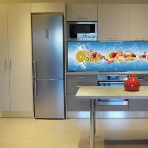3D PVC panel κουζινας κοκτειλ 4683