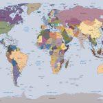φωτοταπετσαρια παγκοσμιος χαρτης 2142