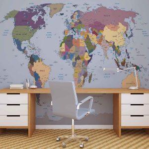 φωτοταπετσαρια παγκοσμιος χαρτης 2142d